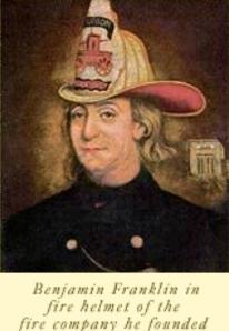 Benjamin Franklin Orang Pertama  Pendiri Bifocals Pemadam Kebakaran di Amerika Serikat