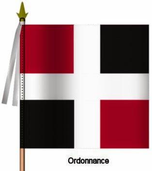 La Sarre Infanterie Ordonnance Flag