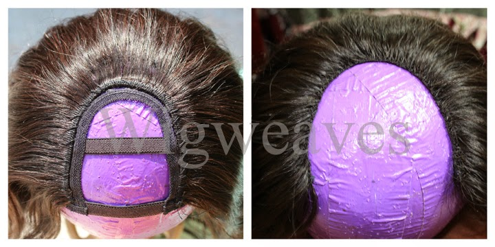 Custom U-Part Wigs With Ventilation