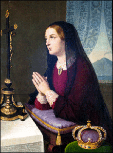 Prayer for Blessed Maria Cristina, Queen of the Two Sicilies