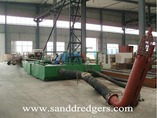 sand suction dredger