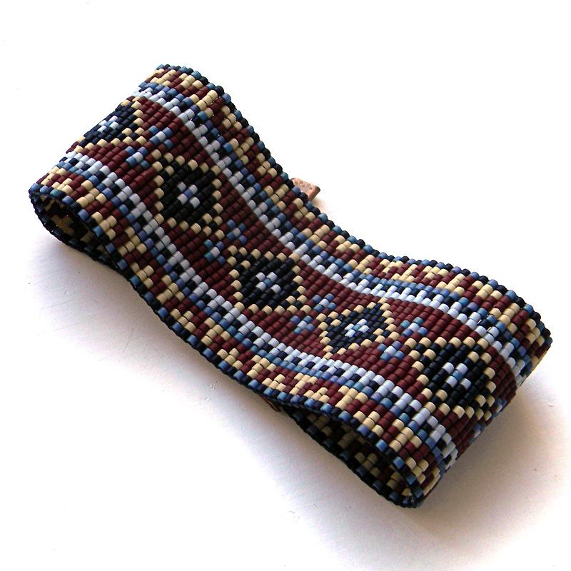браслет из бисера ткачество украшения из бисера этника бохо