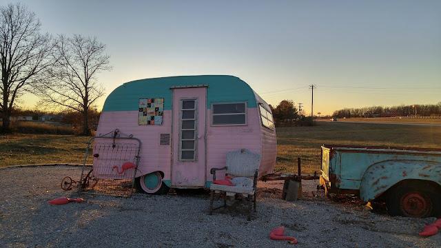 vintage camper quilt