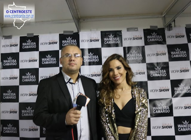 Wanessa Camargo no encerramento do Rodeio Show de Senador Canedo