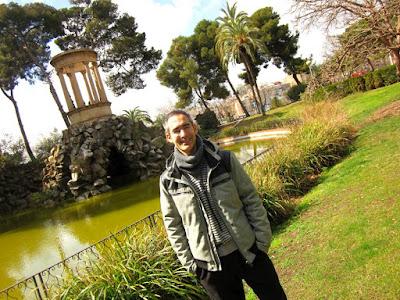 Templete en el lago del Parque de Can Vidalet