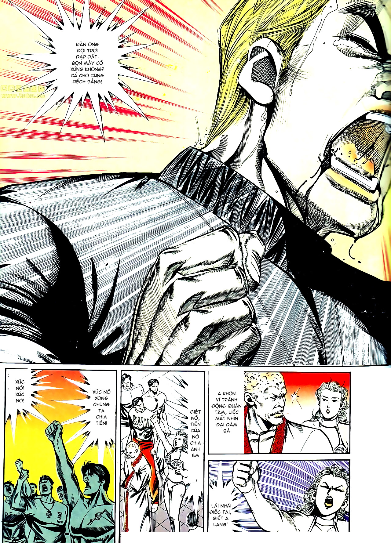 Người Trong Giang Hồ chapter 141: chính khí lẫm liệt trang 16