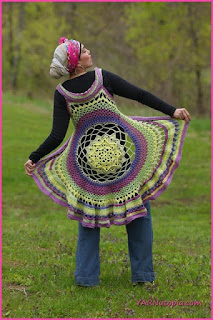 circle vest crochet
