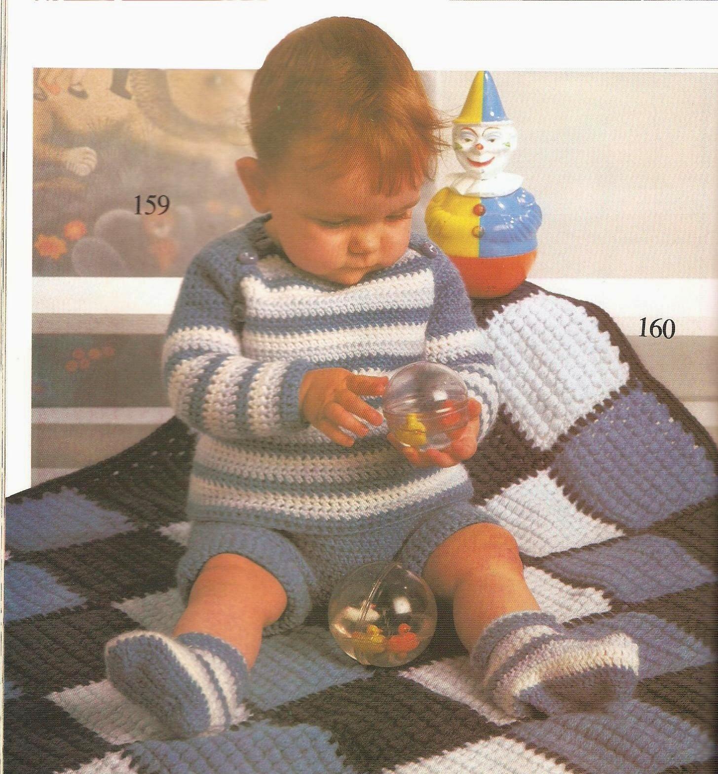 Haken Voor Een Baby Truitje Slofjes En Een Mooi Babydekentje