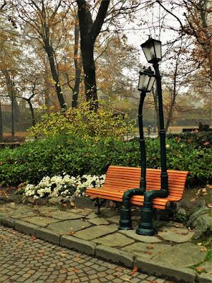 Parco del valentino lampioni innamorati torino