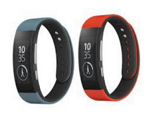 Sony Smartband gelang digital untuk olahraga menghitung detak jantung dan kalori