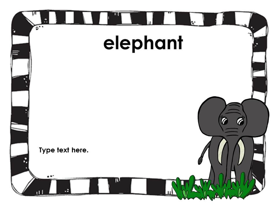 Clip Art by Carrie Teaching First: Trip to the Zoo