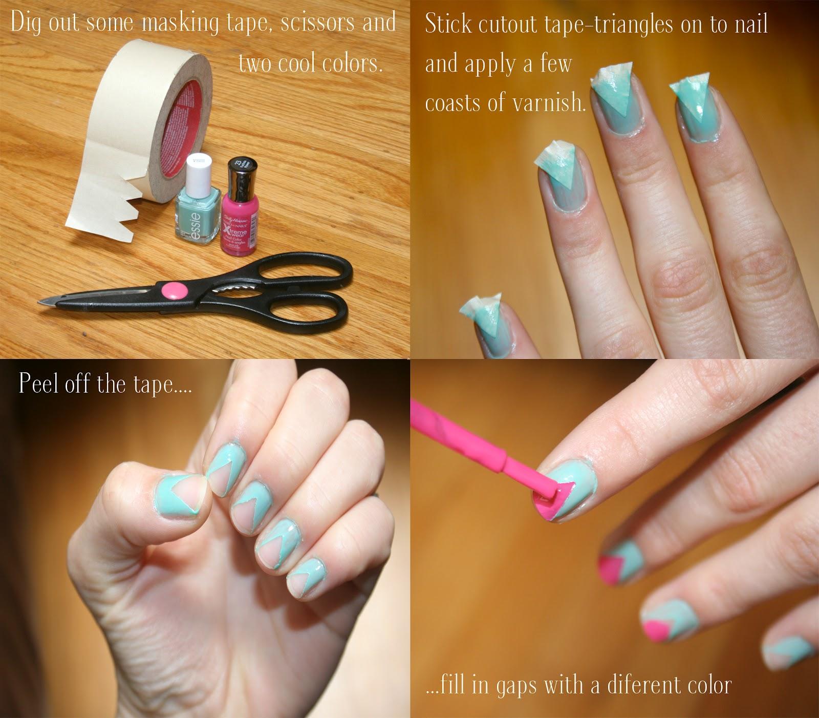 Best Nail Designs And Tutorials: Zoë Gwendoline: # Nail Art Tutorial