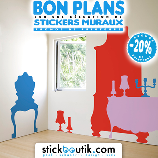 Stickboutik.com - Stickers Meubles baroques POP à -20%