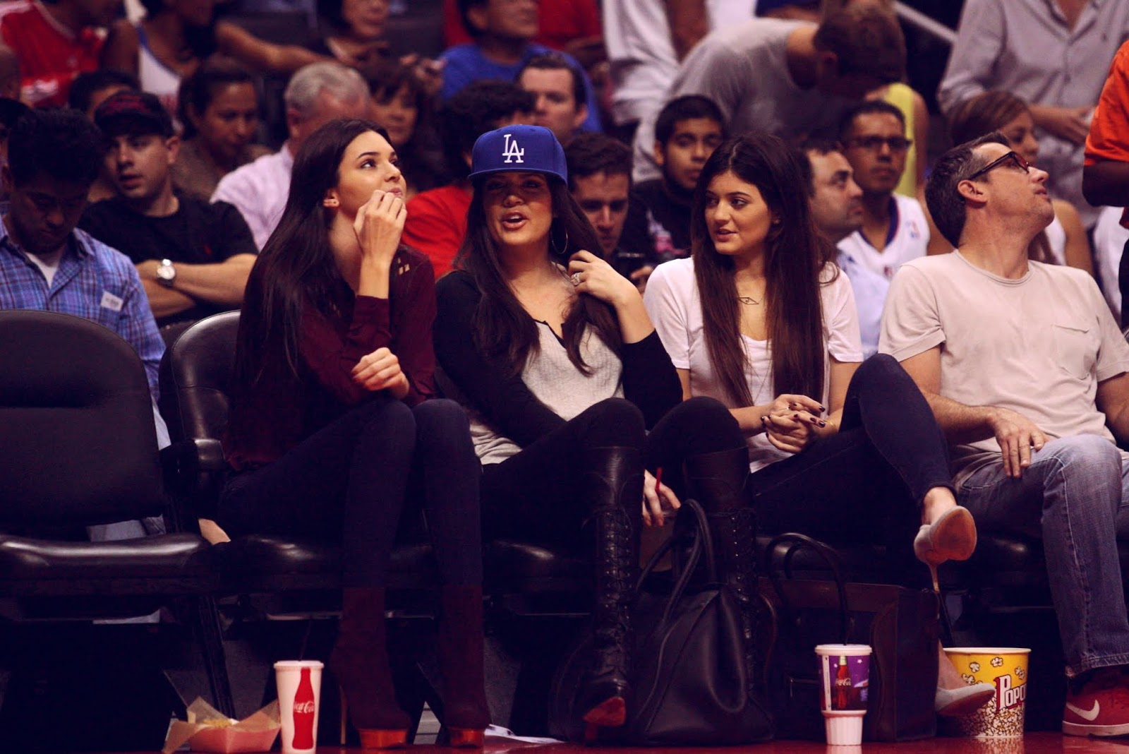 07 - Watching The Los Angeles Clippers Game on October 17, 2012