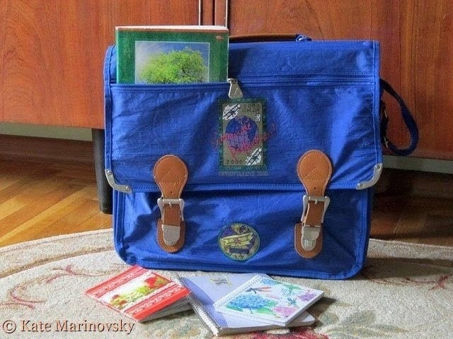 The Blue Bag With Copybooks