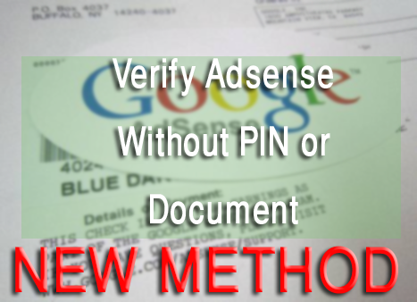 verify adsense account