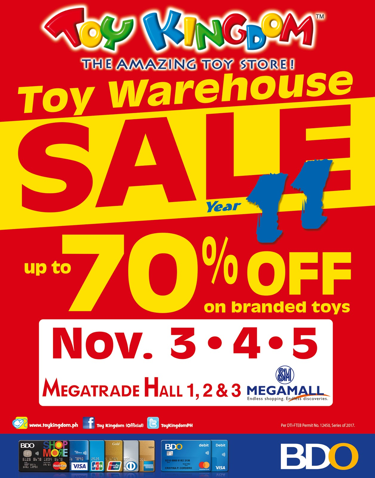 Manila Life Toy Kingdom Toy Warehouse Sale at SM Megatrade this