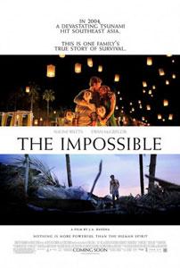 Poster americano de Lo imposible