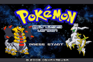 Pokemon Genesis ROM Download - GBAHacks