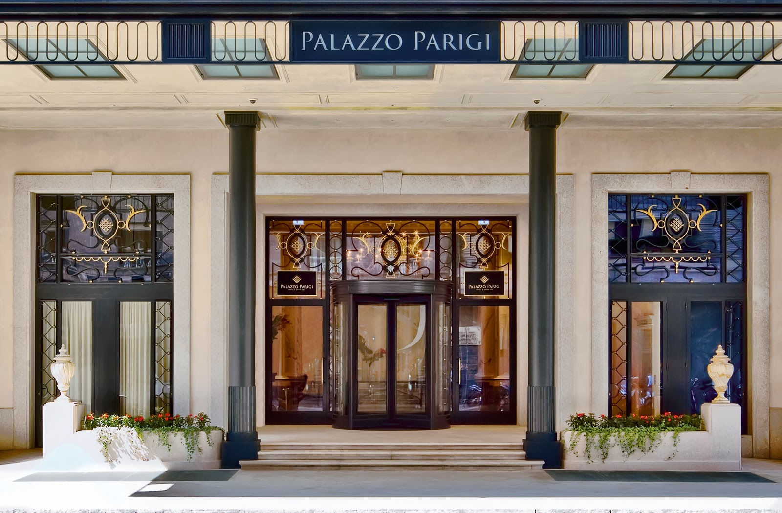 Viaggi e ricette milano palazzo parigi hotel e grand spa for Design hotel parigi
