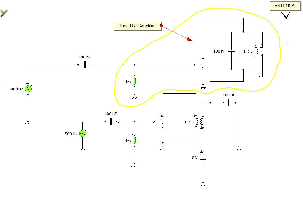 tuned RF amplifier