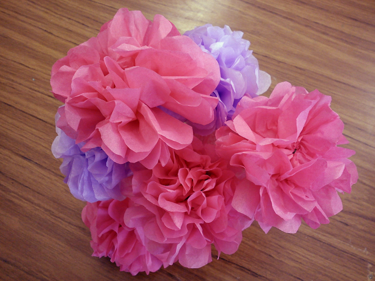 Craft And Activities For All Ages Tissue Paper Flower Tutorial