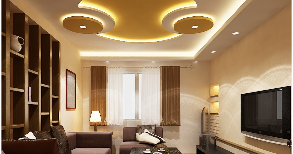 35 Latest Plaster Of Paris Designs, Pop False Ceiling Design 2018