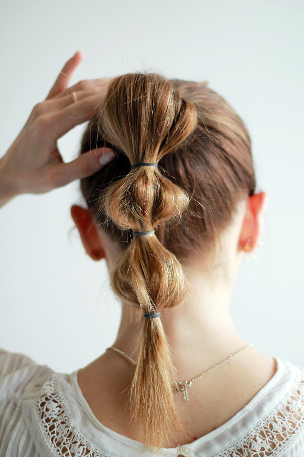 Life File: Bubble Ponytail Hair Tutorial | THE VAULT FILES
