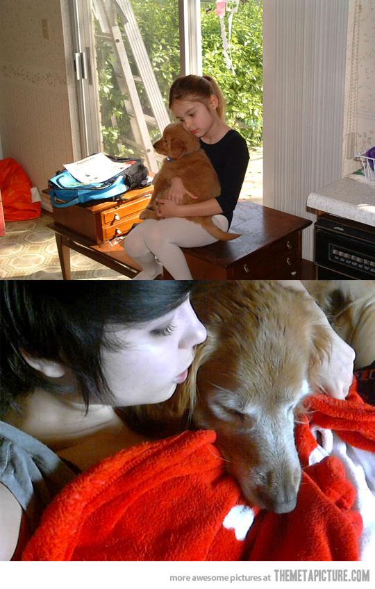 nine years later