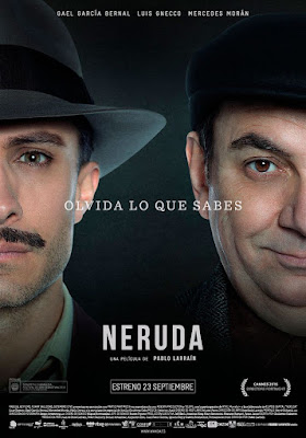 Neruda Movie Poster 2