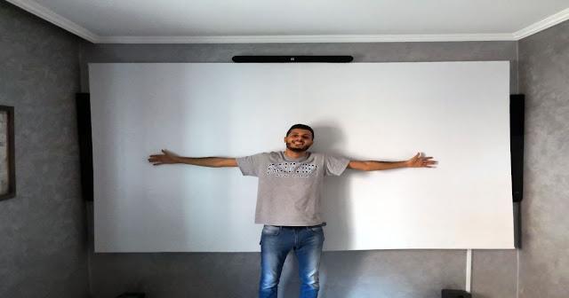 كيف صنعت قاعة سينيمائية منزلية حقيقية ! وكيف يمكنك القيام بذلك بنفسك