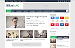 Download Ideas Mag Blogger Template Versi Premium