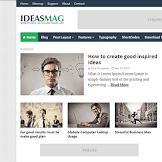 Download Ideas Mag Blogger Template Versi Premium