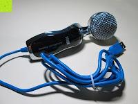Kabel: Tonor USB professionelles Kondensator-Mikrofon Schall Podcast Studio Microphone mit Stativ für Skype PC Mac Laptop Computer Schwarz