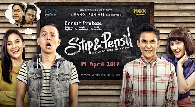 Para komika kembali berkumpul dalam sebuah film layar lebar Stip dan Pensil, Film Terbaru Ernest Prakasa yang Mengangkat Isu Bullying