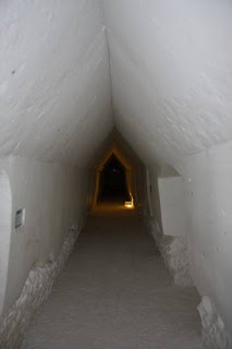 Long Snow Hallway.