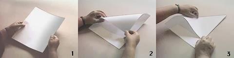 Cara membuat pesawat dari kertas