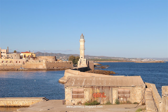 Lighthouse, Chania, Crete, Greece