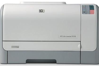 HP Color Laserjet CP1215 Driver Download