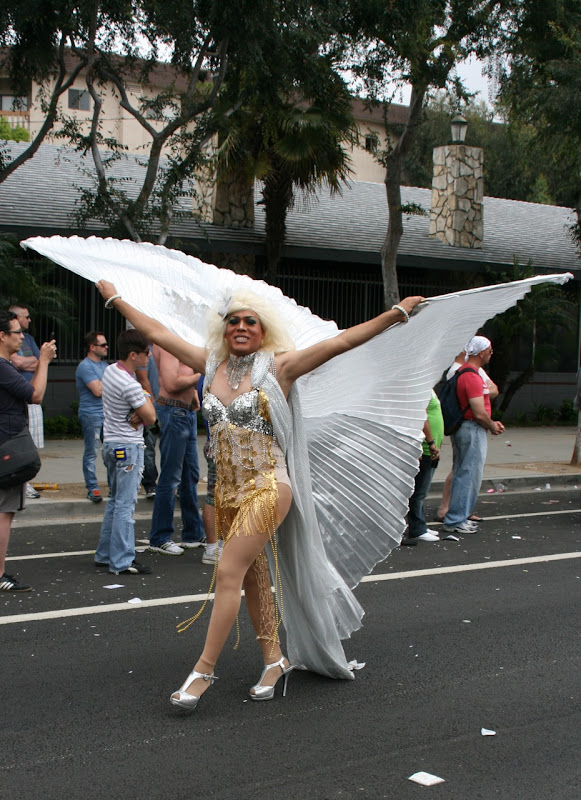 West Hollywood Pride Parade costume