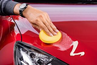 polissage de voiture