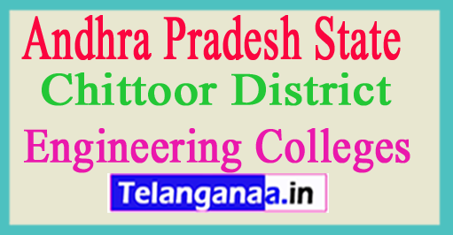 Engineering Colleges In Chittoor District Andhra Pradesh