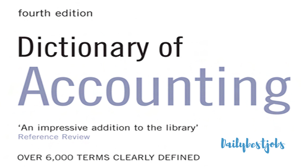 Dictionary of Accounting PDF File FREE Download