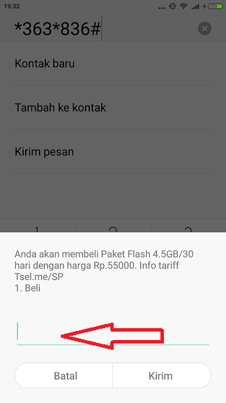 Paket Data Internet Murah 4,5GB Hanya 55Rb Dari Telkomsel