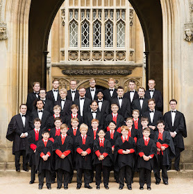 The Choir of St John's College, Cambridge  - photo Ben Ealovega