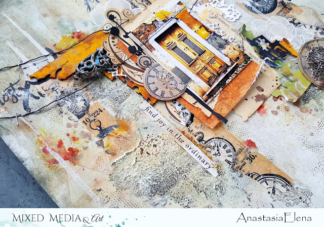 @nastyalena #mixedmedia #layout #scrapbooking