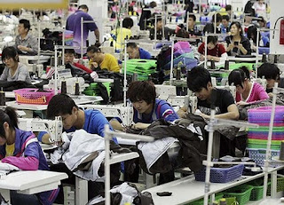 Thai factory workers