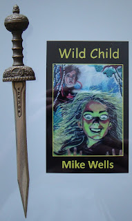Portada del libro Wild Child, de Mike Wells