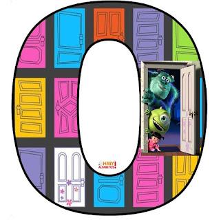 Alfabeto de Puertas de Monstruos S. A.
