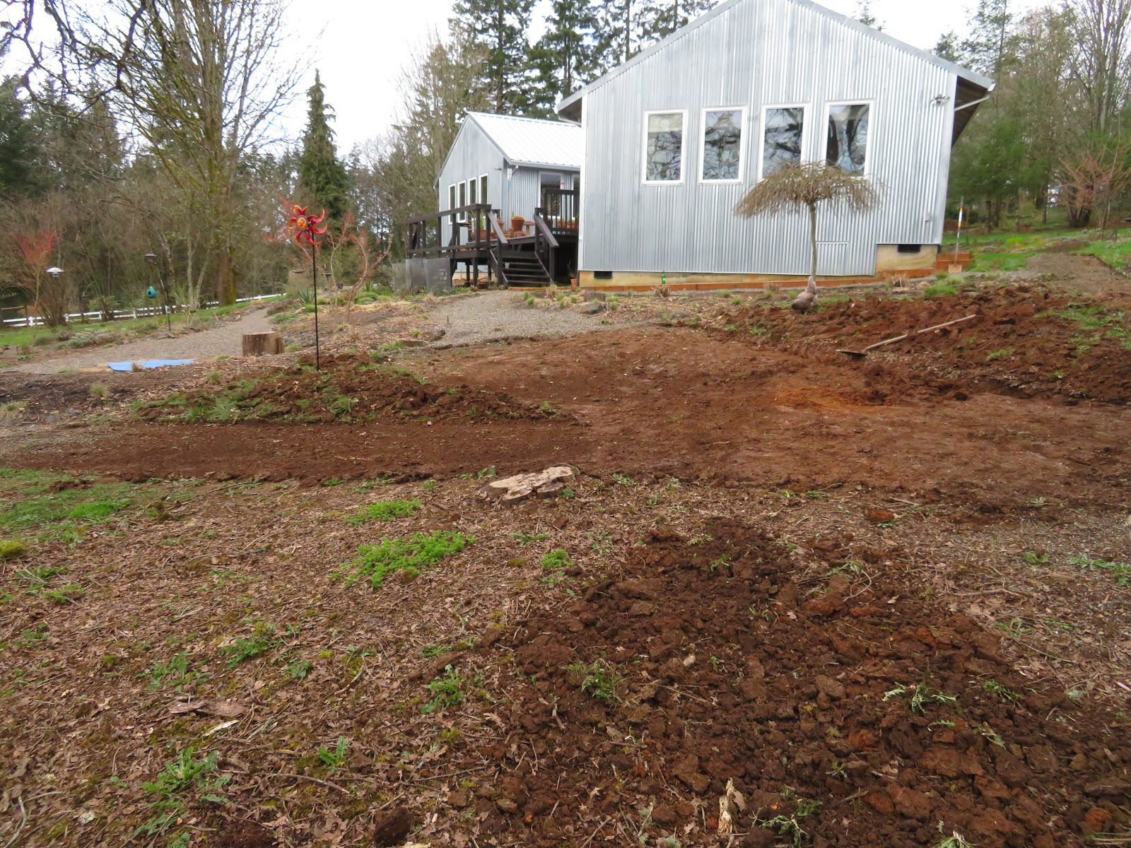 Before and After: Moving Soil, Making Paths